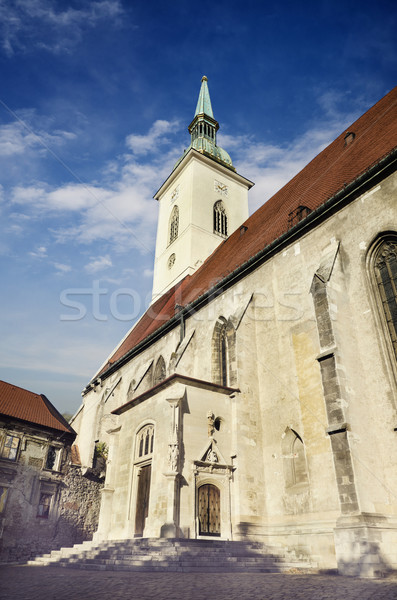 Saint Martin's cathedral, Bratislava, Slovakia Stock photo © hitdelight