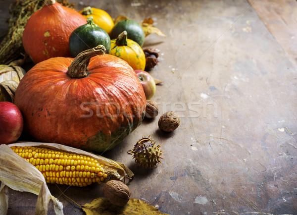 Autunno stagionale frutti mela design home Foto d'archivio © hitdelight