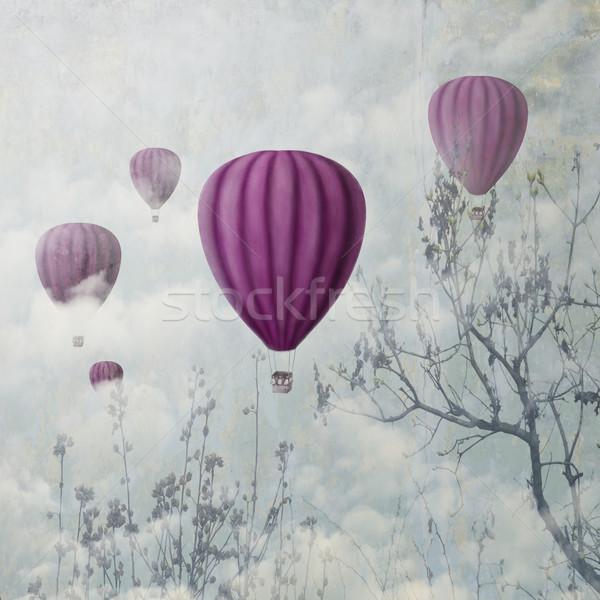 Stock photo: Pink Balloons
