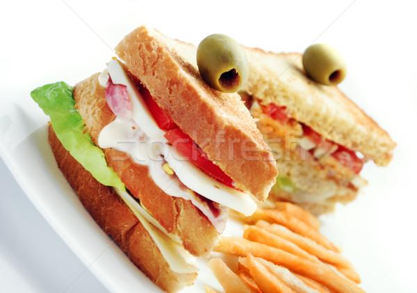 sandwiches Stock photo © hitdelight