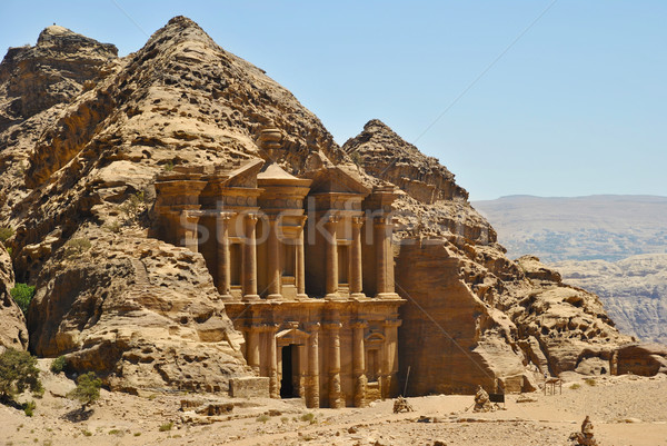 Ad Deir, Petra Stock photo © hitdelight