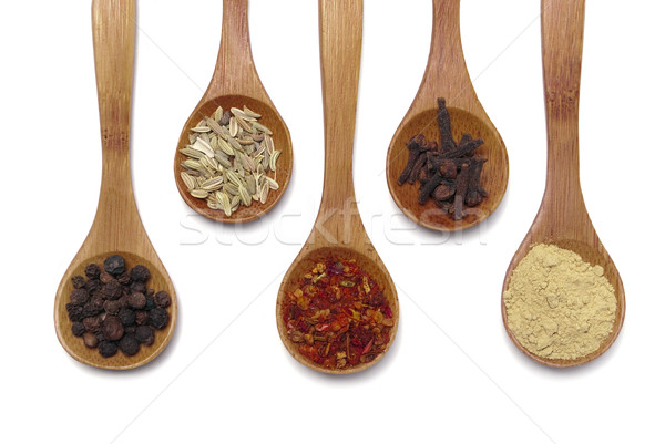 Spices Stock photo © hitdelight