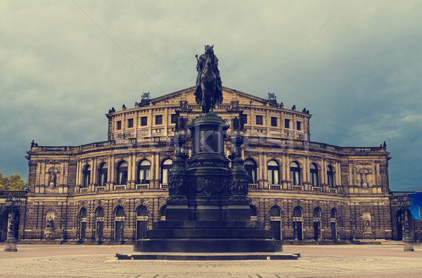Opera House in Dresden Stock photo © hitdelight