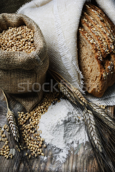 Wheat Stock photo © hitdelight
