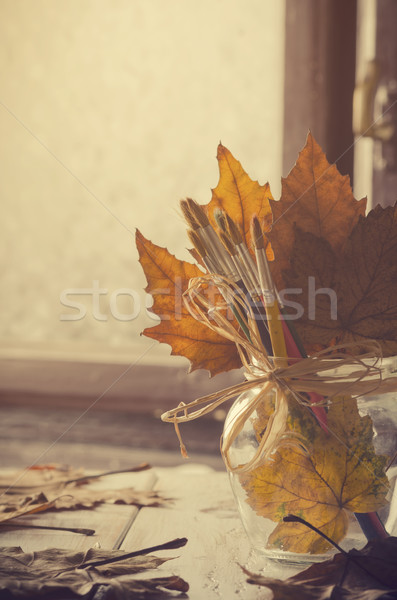 Autumn Art. Stock photo © hitdelight