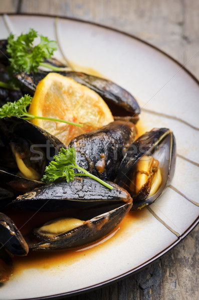 Mussels Stock photo © hitdelight
