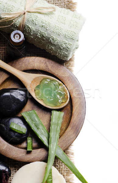 алоэ Spa природы тело лист здоровья Сток-фото © hitdelight