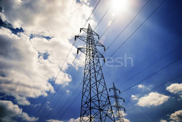 Power tower Stock photo © hitdelight