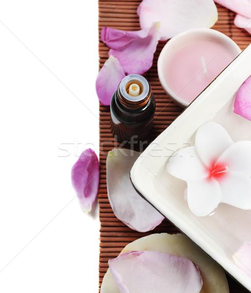 Trattamento termale bellezza medicina relax olio Foto d'archivio © hitdelight