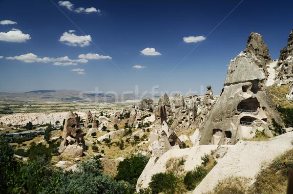Uchisar, Cappadocia Stock photo © hitdelight