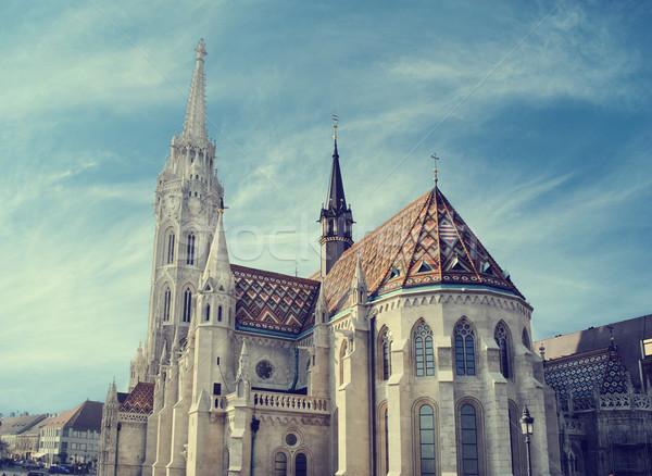 Matthias church, Budapest Stock photo © hitdelight