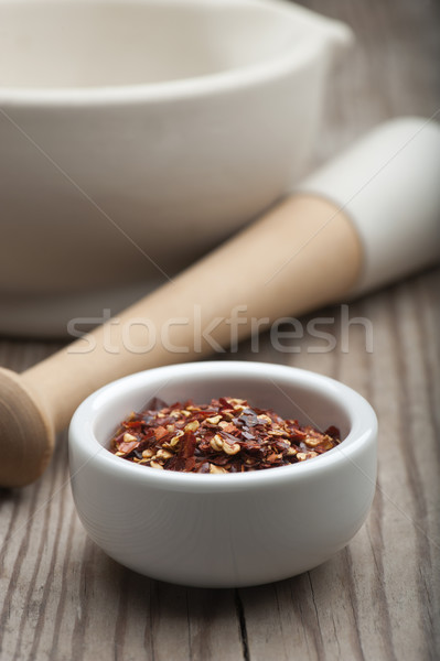 чили перец приготовления горячей Сток-фото © HJpix