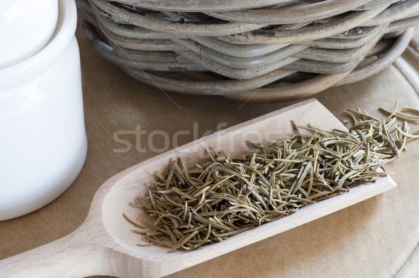 черпать сушат трава чай природного Сток-фото © HJpix