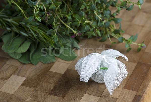 букет свежие травы кухне приготовления Сток-фото © HJpix