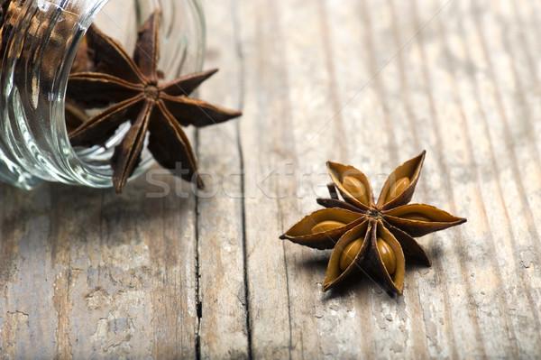 звездой анис деревенский таблице китайский Сток-фото © HJpix
