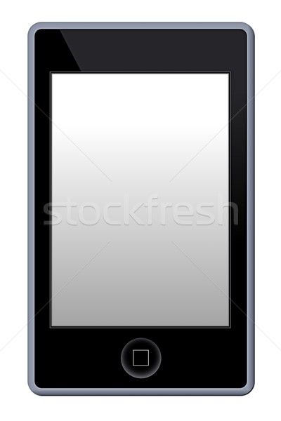 Mp3 telefon játékos illusztráció fehér üzlet Stock fotó © hlehnerer