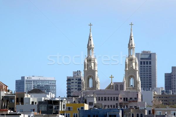 Stock photo: Church Top San Francisco