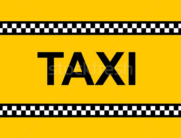 TAXI Sign Stock photo © hlehnerer