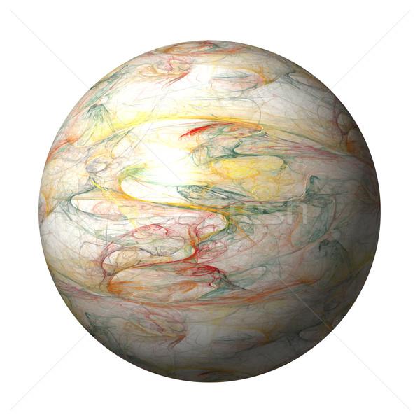 Fractal Globe Stock photo © hlehnerer