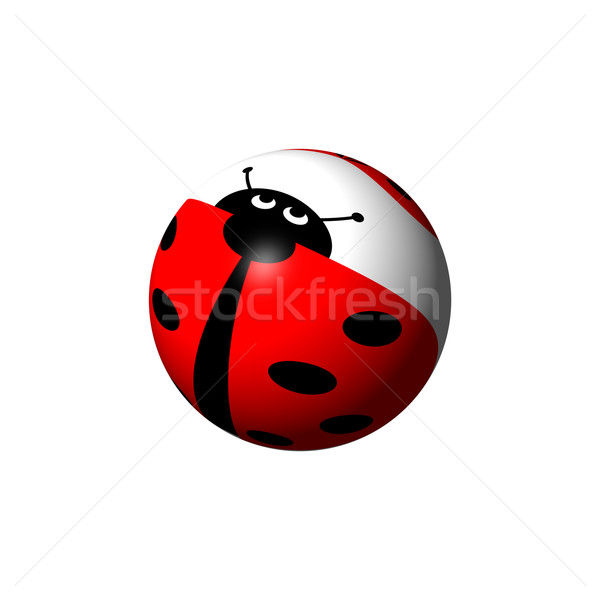 Ladybug Globe Stock photo © hlehnerer