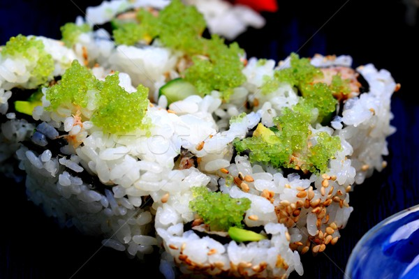 sushi california roll Stock photo © hlehnerer