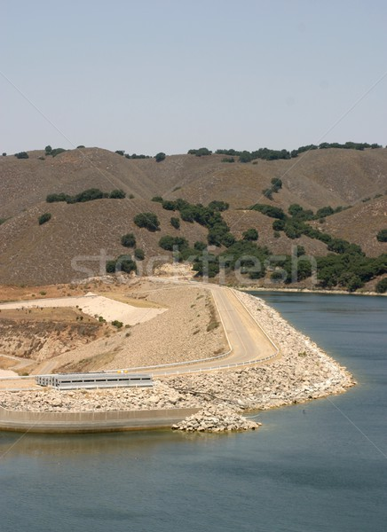 Bradbury Dam Stock photo © hlehnerer
