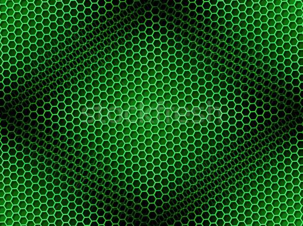 Petek yeşil kahverengi ışık etki Stok fotoğraf © hlehnerer