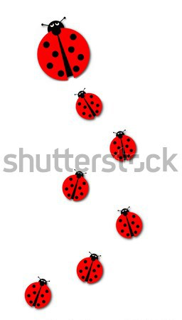 Many Ladybugs Stock photo © hlehnerer