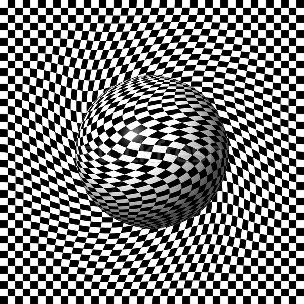 Sphere Abstract Pinch Stock photo © hlehnerer