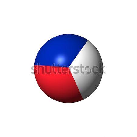 France Flag Sphare Stock photo © hlehnerer
