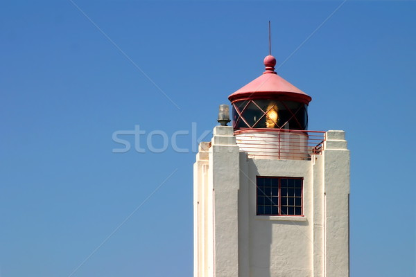 Port Hueneme Light Tower Stock photo © hlehnerer