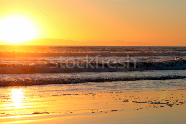Ventura Sunset Stock photo © hlehnerer