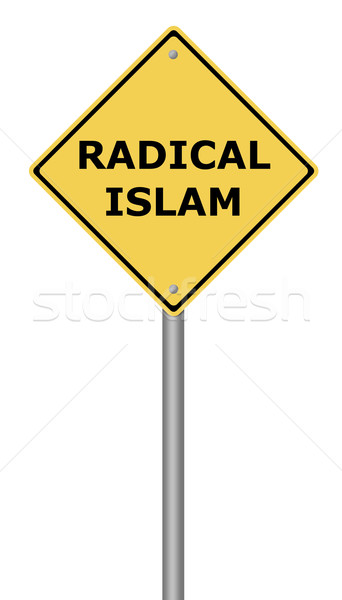 Radical Islam Warning Sign Stock photo © hlehnerer