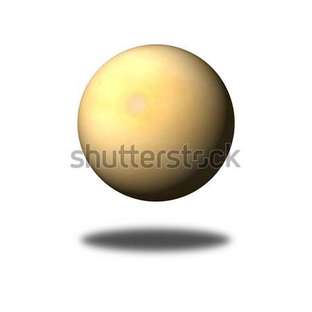 Régi papír földgömb gömb épít fehér árnyék Stock fotó © hlehnerer