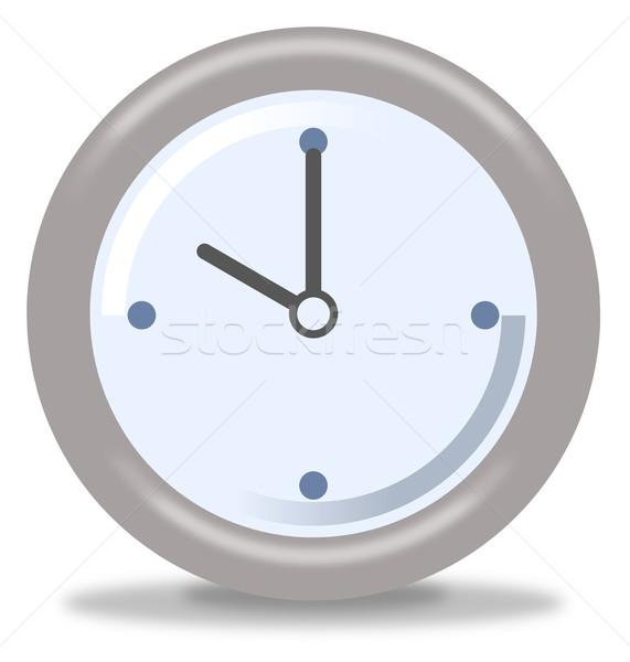 Clock Ten Stock photo © hlehnerer
