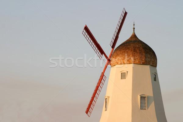 Old Windmill Stock photo © hlehnerer
