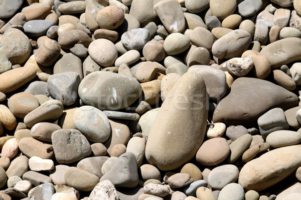 Stock photo: River Rocks Pebbles