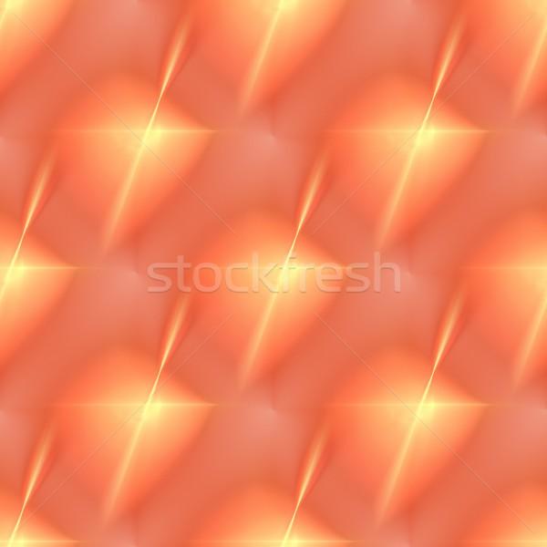 Fraktál narancs csillag vibráló szín forma Stock fotó © hlehnerer