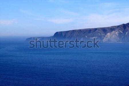 île coût eau paysage mer Photo stock © hlehnerer