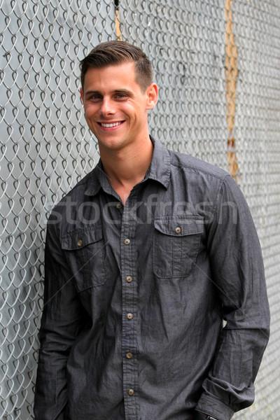 Portrait Of A Man Stock photo © hlehnerer