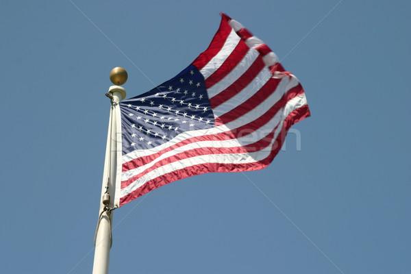 Stock photo: USA Flag