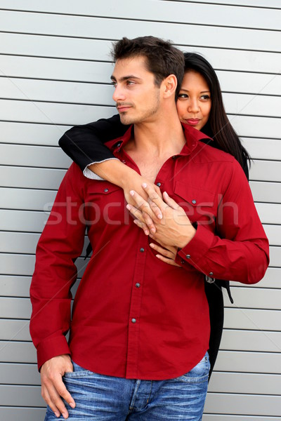 Hugging Couple Stock photo © hlehnerer