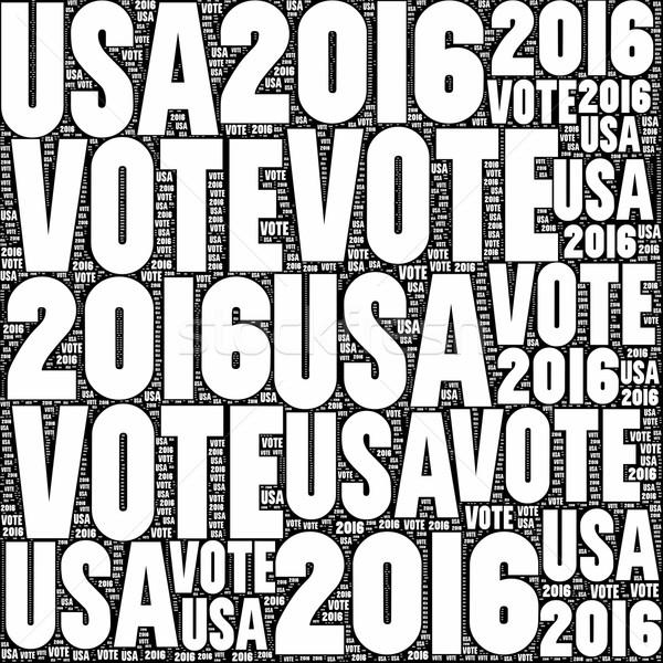 Vote USA 2016 Stock photo © hlehnerer