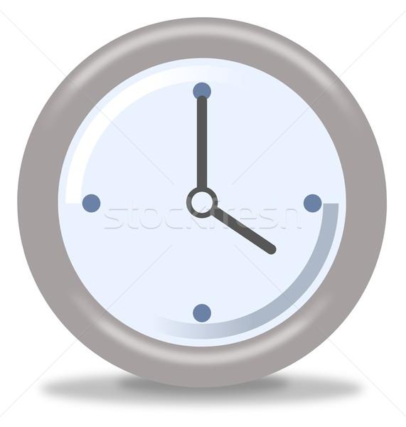 Clock Four Stock photo © hlehnerer