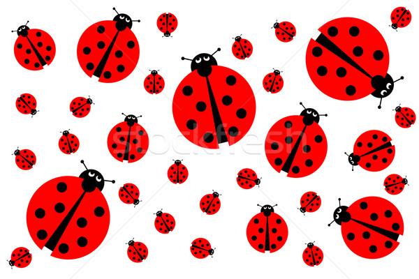Many Ladybugs Stock photo © hlehnerer