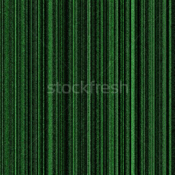 Matris yeşil neon sütunlar ışık dizayn Stok fotoğraf © hlehnerer