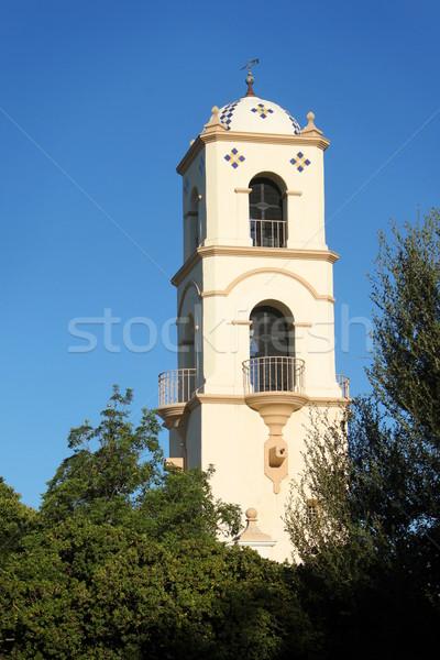 Bureau de poste tour repère Californie ciel bâtiment Photo stock © hlehnerer
