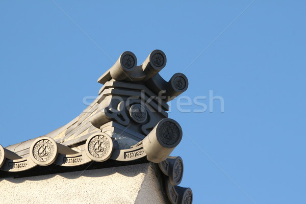 Japanese Rooftop Stock photo © hlehnerer
