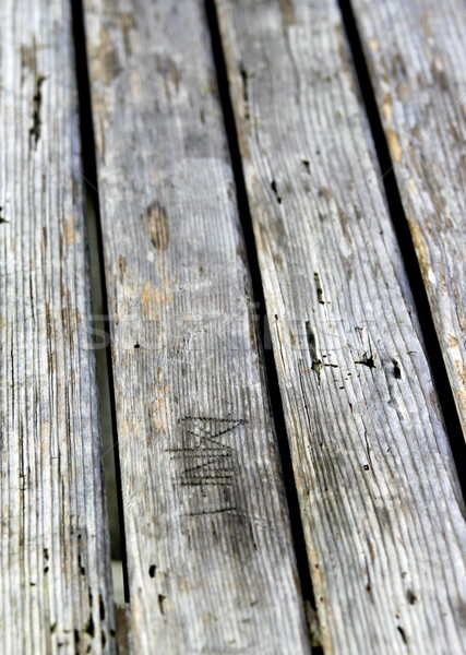 Old Wood Texture Stock photo © hlehnerer