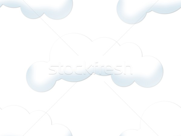 Cloud Seamless Backgound Stock photo © hlehnerer
